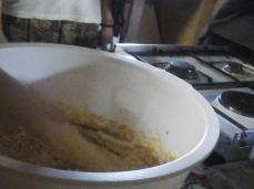 preparando o miso