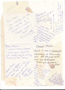 Messages from the Group