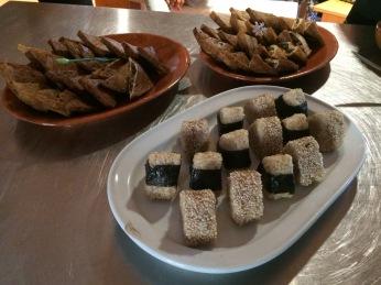 Sushi Dinner - Rice Cakes