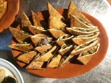 Sushi Dinner - Tofu purses