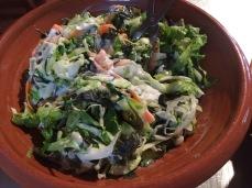 Sushi Dinner - Seaweed salad