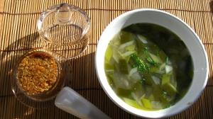 Miso caseiro e sopa de miso